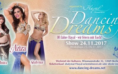 11.24 in Berlin, Germany – Dancing Dreams